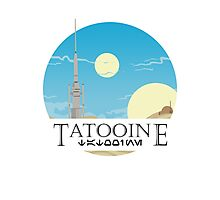 Tatooine Photographic Print