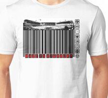 BARCODED IN HIGHBURY Unisex T-Shirt