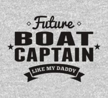 Future Boat Captain Like My Daddy One Piece - Long Sleeve