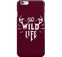 The Wild Life - version 1 - White iPhone Case/Skin