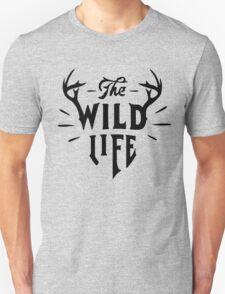 The Wild Life - version 2 - Black T-Shirt