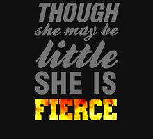 Though she may be little she is fierce womens workout tank tops T-Shirt