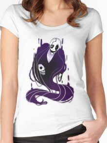 Undertale: Gaster Women's Fitted Scoop T-Shirt