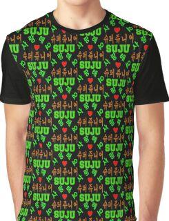 ♥♫SaRangHaeYo(I Love You) K-Pop Boy Band-Super Junior Clothes & Phone/iPad/Laptop/MackBook Cases/Skins & Bags & Home Decor & Stationary♪♥ Graphic T-Shirt