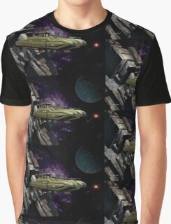 Space Battle Cruiser  Graphic T-Shirt