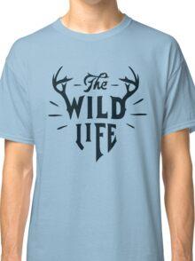 The Wild Life - version 5 - Dark blue / Navy Classic T-Shirt
