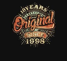 Used look 18th Birthday - Original since 1998 - Birthday gift Rahmenlos Unisex T-Shirt