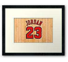 Michael Jordan NBA Bulls Chicago Framed Print