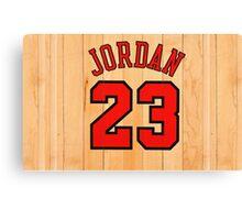 Michael Jordan NBA Bulls Chicago Canvas Print