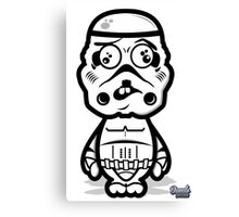 Dumb Trooper Canvas Print