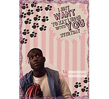 My Teenwolfed Valentine [I Want to Eat Lunch w/ You] Photographic Print