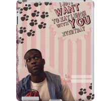 My Teenwolfed Valentine [I Want to Eat Lunch w/ You] iPad Case/Skin