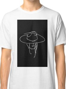 James Bay Inspired Outline product Black + White Classic T-Shirt