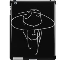 James Bay Inspired Outline product Black + White iPad Case/Skin