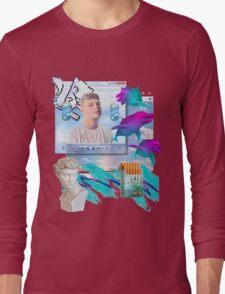 Air World Vaporwave Aesthetics Long Sleeve T-Shirt