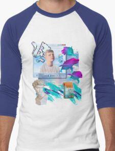 Air World Vaporwave Aesthetics Men's Baseball ¾ T-Shirt
