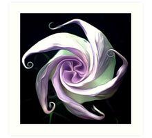Ode to an Angel Trumpet (1/3) Art Print