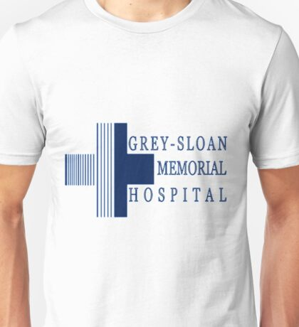 Grey Sloan Memorial Hospital Logo  Unisex T-Shirt