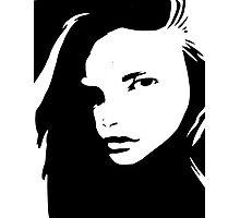 Graphic Girl Photographic Print