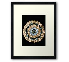 Medallion Trend Framed Print