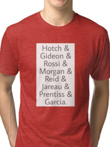 Criminal Minds Best Characters Tri-blend T-Shirt