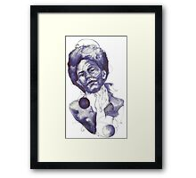 Artist Portrait Series Framed Print