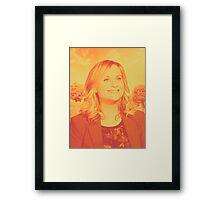 Leslie Knope! Framed Print