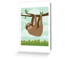 Hanged Man Greeting Card