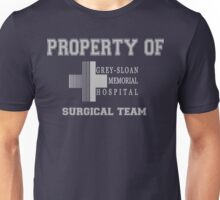 Grey Sloan Memorial Hospital Surgical Team  Unisex T-Shirt
