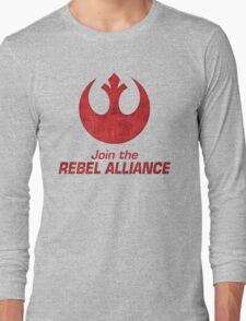 Join the Rebel Alliance Long Sleeve T-Shirt