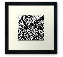 Lines 2 Framed Print
