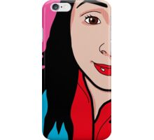 Pop Art - Gabrielle iPhone Case/Skin