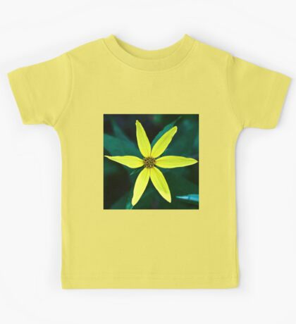 Woodland Sunflower Kids Tee