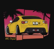 86ZILLA - Yellow(shaded) by BBsOriginal