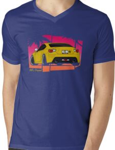 86ZILLA - Yellow(shaded) Mens V-Neck T-Shirt