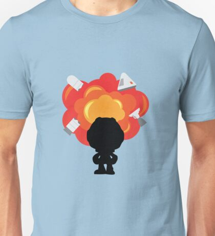 Kerbal Space Program Explosion Unisex T-Shirt