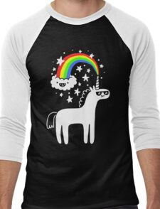 Cool Unicorn Men's Baseball ¾ T-Shirt