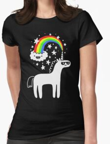 Cool Unicorn Womens Fitted T-Shirt