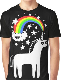 Cool Unicorn Graphic T-Shirt