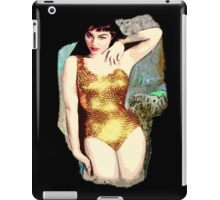 julie newmar iPad Case/Skin