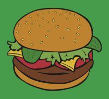 hamburger One Piece - Short Sleeve