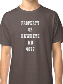 Property of Hawkeye Classic T-Shirt