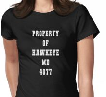 Property of Hawkeye Womens Fitted T-Shirt