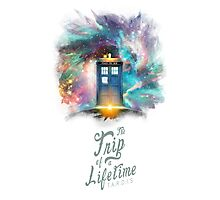 Trip of a Lifetime - TARDIS Photographic Print