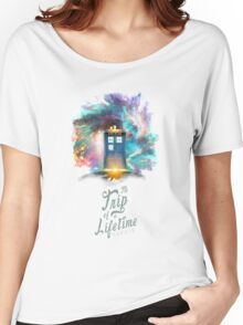 Trip of a Lifetime - TARDIS Women's Relaxed Fit T-Shirt