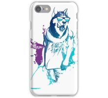 Cool Surfing Dog – Surfer Style Design iPhone Case/Skin