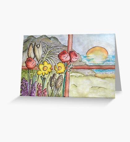 Belle Vue Greeting Card
