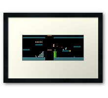 Mario Underworld Framed Print