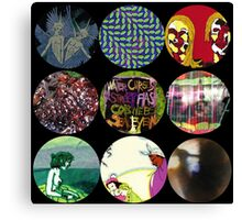 Animal Collective Albums Canvas Print