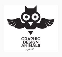 Graphic Design Animal - Owl Kids Clothes